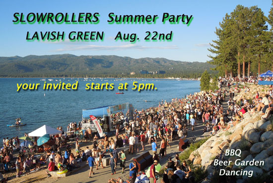 2013 Summer Party on the Beach with Lavish Green